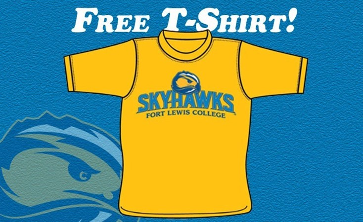 hot sale online f41c1 a1e68 DWC to Give Out Free Skyhawks Game Day T-Shirts - Fort Lewis ...