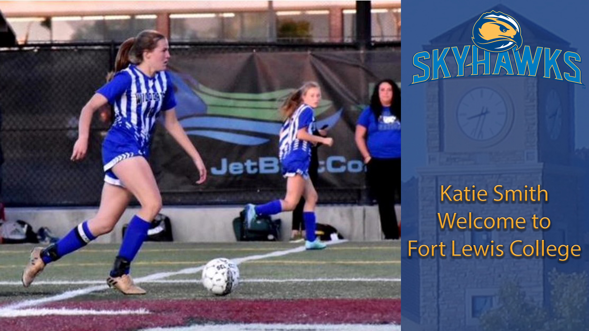 reputable site 212b4 8244c Colorado's Own Smith to Join Women's Soccer - Fort Lewis ...